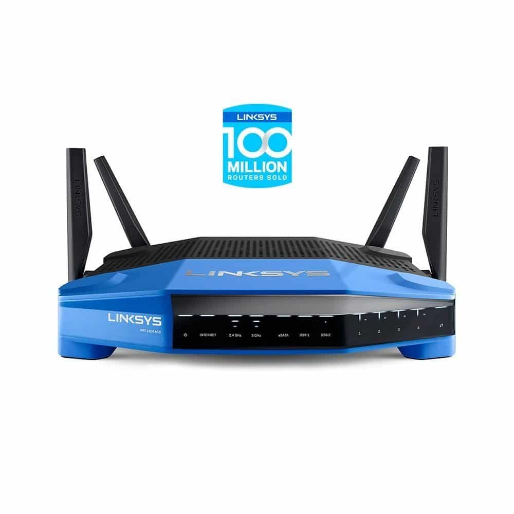 Linksys WRT1900ACS Dual-Band Wi-Fi Gigabit Router