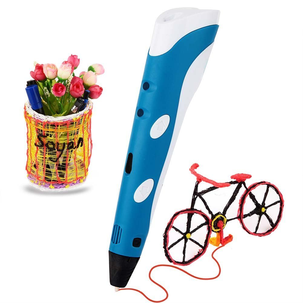 Soyan 3D Printing Pen for Doodling, Art & Craft Making, 3D Modeling and Education