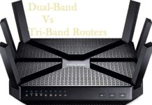 dual band vs tri band router