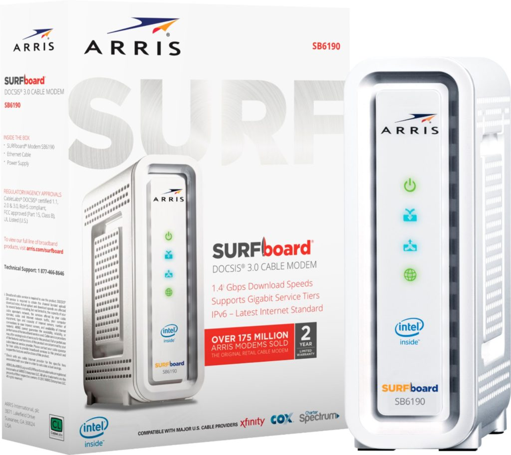 ARRIS SURFBOARD SB6190