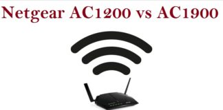 Netgear AC1200 vs AC1900 Comparison