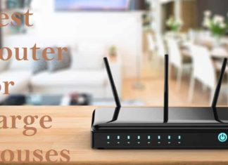 best router for large house