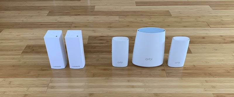 Netgear Orbi and Linksys Velop